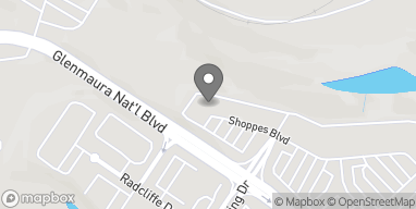 Map of 1041 Shoppes Blvd in Moosic
