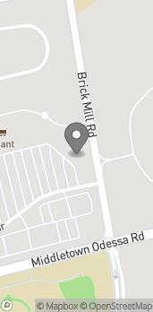 Map of 280 Dove Run Center Blvd in Middletown