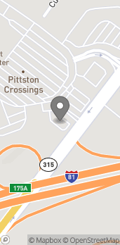 Map of 320 Route 315 Highway in Pittston