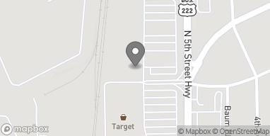 Map of 4302 N 5th Street Hwy in Temple