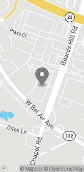 Map of 1013 Beards Hill Road in Aberdeen