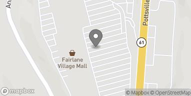 Map of 7150 Fairlane Village Mall in Pottsville