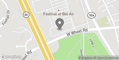 Map of 5 Bel Air South Pkwy in Bel Air