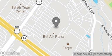 Map of 571 Baltimore Pike in Bel Air