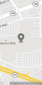 Map of 7839 Eastpoint Mall in Baltimore