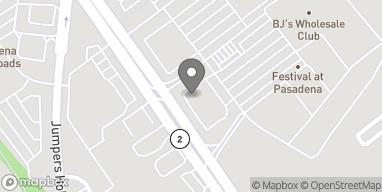 Map of 8131 Ritchie Highway in Pasadena