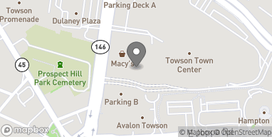 Map of 825 Dulaney Valley Road in Towson