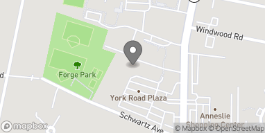 Map of 6346 York Rd in Baltimore