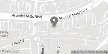 Map of 7651 Arundel Mills Boulevard in Hanover