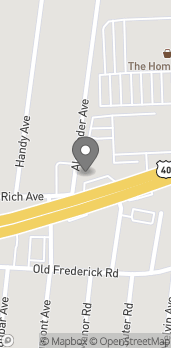 Map of 6038 Baltimore National Pike in Catonsville