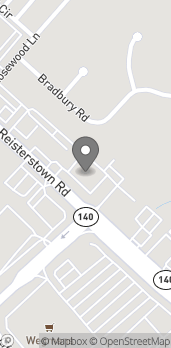 Map of 10215 Reisterstown Rd in Owings Mills