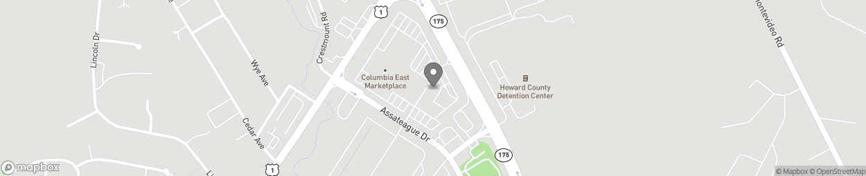 Map of 7361 Assateague Dr in Jessup