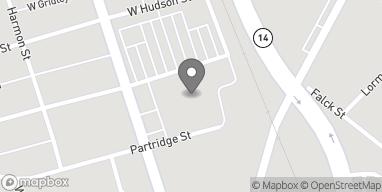 Map of 299 South Main Street in Elmira