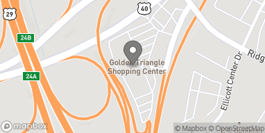 Map of 8801 Baltimore National Pike in Ellicott City