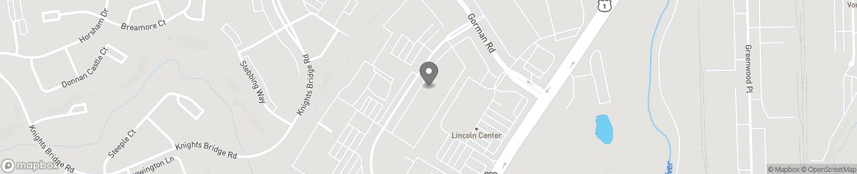 Carte de 8751 Freestate Drive à Laurel