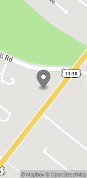 Map of 1597 N Susquehanna Trail in Selinsgrove