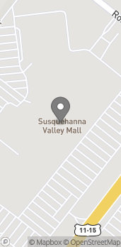 Map of 1 Susquehanna Valley Mall Drive in Selinsgrove