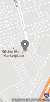 Map of 1801 Ritchie Station Ct in Capitol Heights
