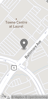Map of 14700 Baltimore Ave in Laurel