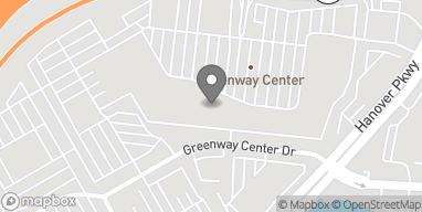 Map of 7491 Greenbelt Road in Greenbelt