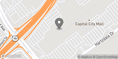 Map of 3588 Capital City Mall Dr in Camp Hill