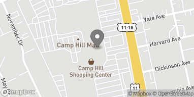 Map of 100 South 32nd Street in Camp Hill