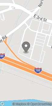 Map of 26 Liberty Lane in Williamsport