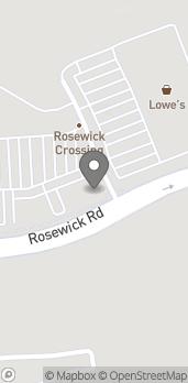 Map of 132 Rosewick Road in Laplata