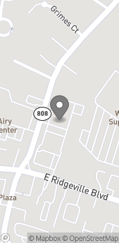 Map of 1311 South Main St in Mount Airy