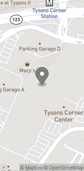 Map of 8005-L Tysons Corner Center in Mc Lean