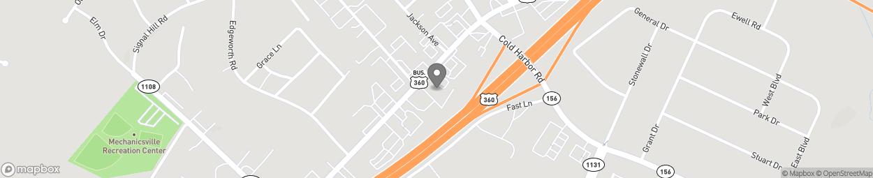 Carte de 8055 Mechanicsville Pike à Mechanicsville