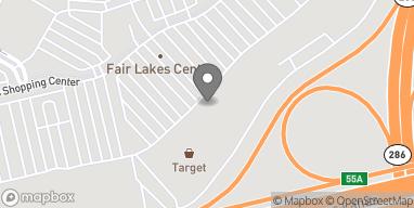 Map of 13037 Fair Lakes Shopping Center in Fairfax