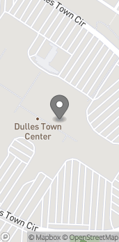 Map of 21100 Dulles Town Cir in Dulles