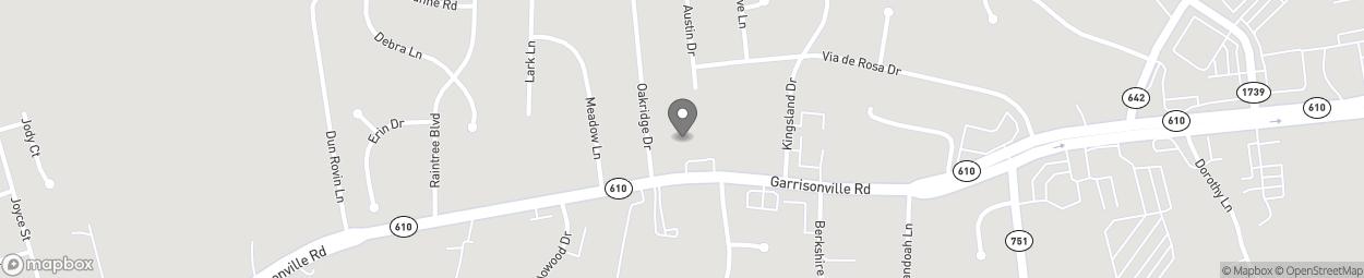 Carte de 624 Garrisonville Road à Garrisonville