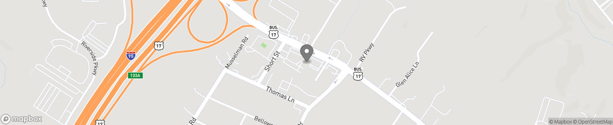 Carte de 363 Warrenton Road à Fredericksburg