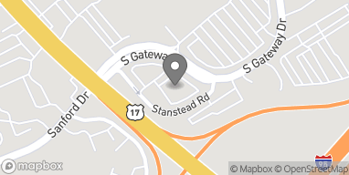 Map of 28 S Gateway Dr in Fredericksburg