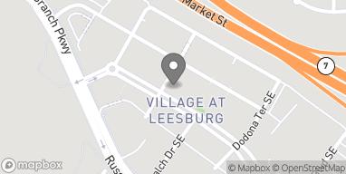 Map of 1604 Village Mkt Blvd SE in Leesburg