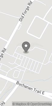 Map of 11117 Buchanan Trail East in Waynesboro
