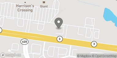 Map of 5635 Plank Road in Fredericksburg