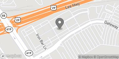 Map of 7363 Atlas Walk WY in Gainesville