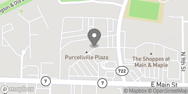 Map of 609 East Main St in Purcellville