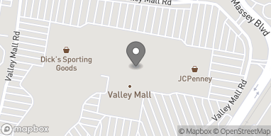 Map of 17301 Valley Mall Road in Hagerstown