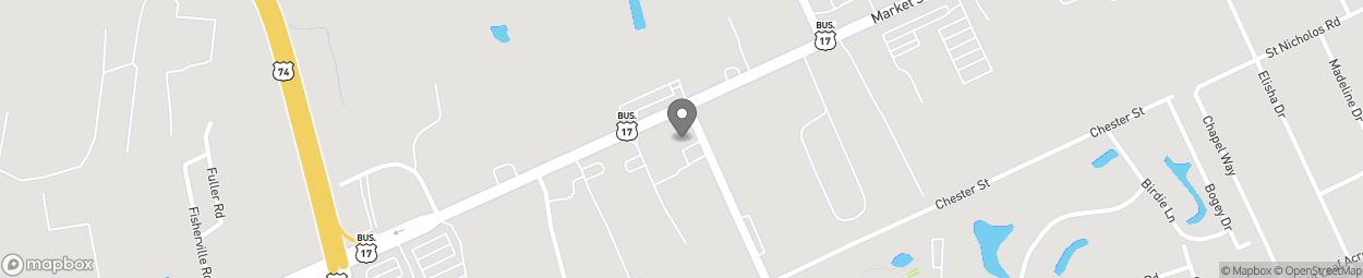 Carte de 5832 Market Street à Wilmington