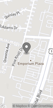 Map of 3501 Capital Blvd in Raleigh