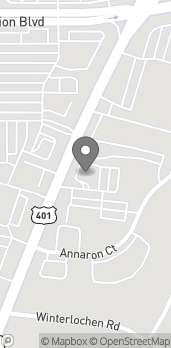 Map of 4203 Fayetteville Rd in Garner