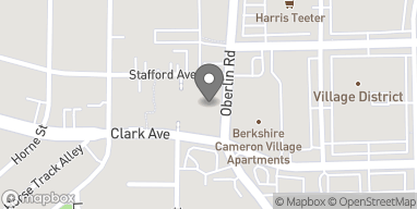 Map of 413 Oberlin Road in Raleigh