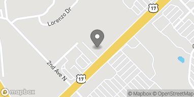 Map of 213 Hwy 17 N in North Myrtle Beach
