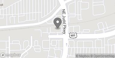 Mapa de 1237 N Main Street en Fuquay Varina