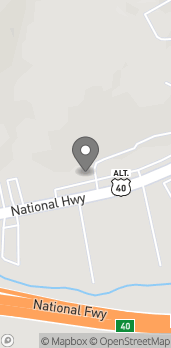 Map of 1225 F National Hwy in Lavale