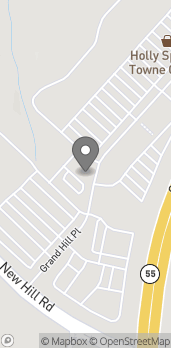 Mapa de 156 Grand Hill Place en Holly Springs